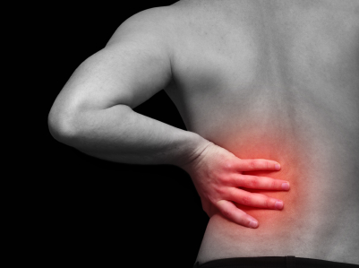 back pain and gas