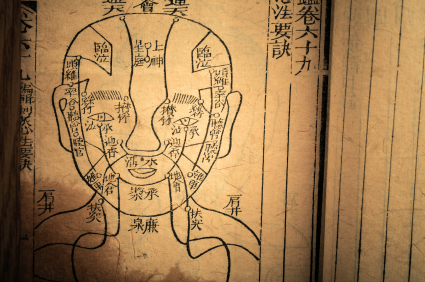 chinese face reading