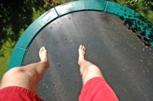 trampolinejumping