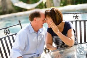 older couple in love