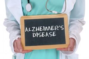 Alzheimers disease Alzheimer Alzheimer's ill illness healthy health doctor with sign