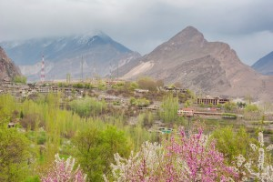 Hunza Valley high in the Himalayas