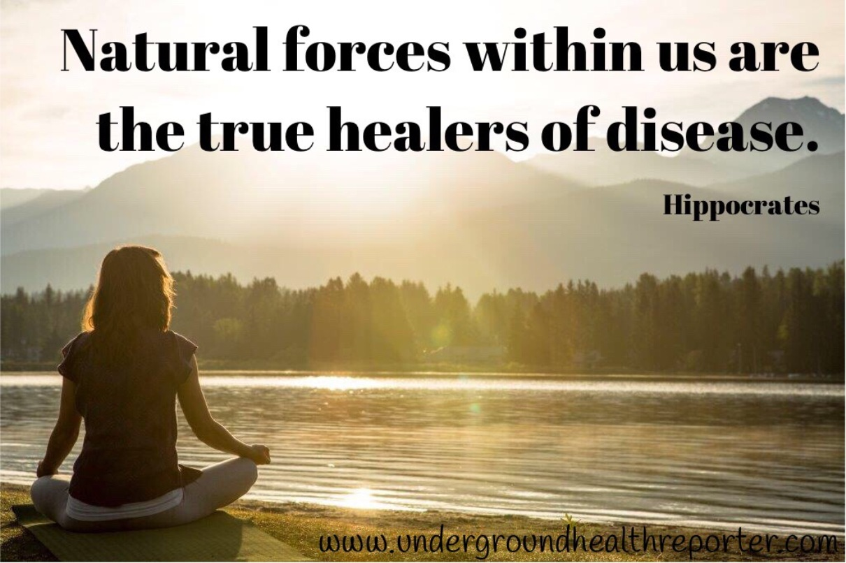 Hippocrates quote about healing disease
