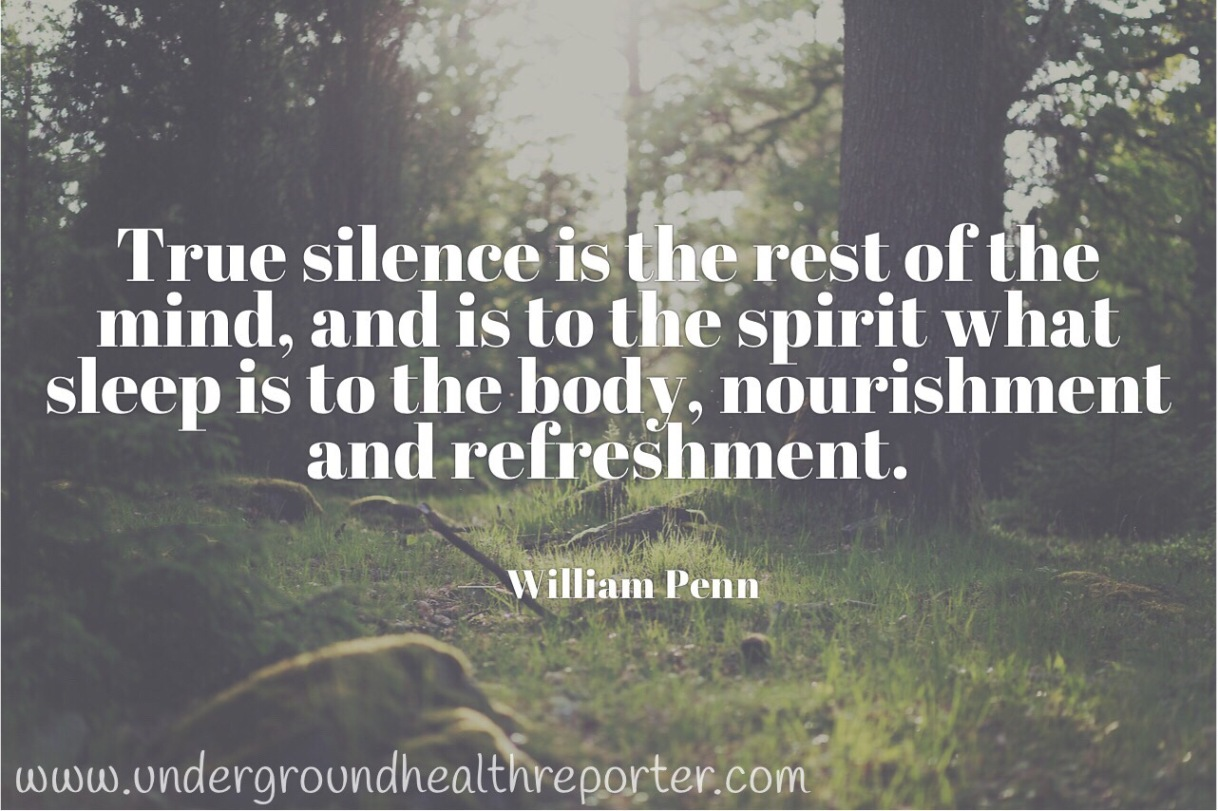 William Penn quote about silence