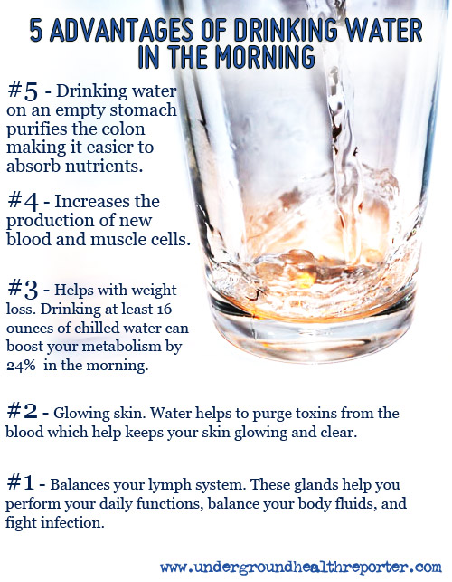 5 Benefits of Drinking Water In The Morning
