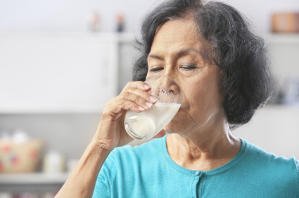 osteoporosis and milk