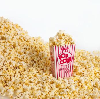 Diacetyl popcorn