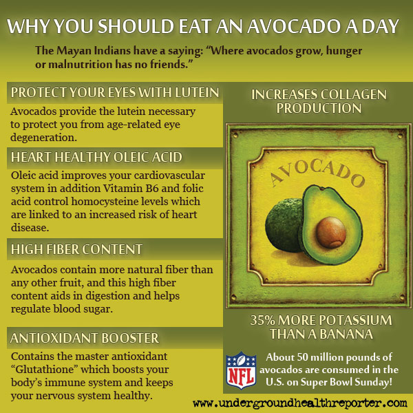Why You Should Eat an Avocado a Day