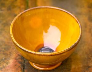 Yellow Ceramic Bowl