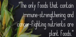 Mike Anderson quote about plant based foods