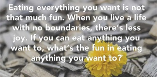 Tom Hanks Quote about eating