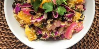 quinoa citrus cilantro salad