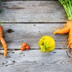 ugly carrots and other vegetables